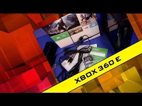 Xbox 360 E - Распаковка