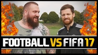 Video FOOTBALL VS FIFA WITH TRUE GEORDIE! MP3, 3GP, MP4, WEBM, AVI, FLV Agustus 2018