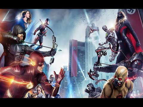 The Arrowverse // Crisis on Earth-X, Part 4 // The Finale Battle // I-Exist - Giving My Life