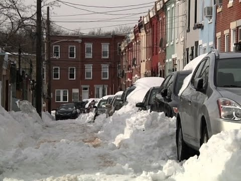WATCH: Philly residents still digging out