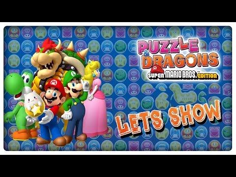 Let's Show PUZZLE & DRAGONS SUPER MARIO BROS. EDITION - Die ersten 30 Minuten