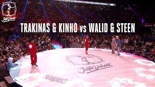 Walid & Mr. Steen vs Trakinas & Kinho – Juste Debout 2018 Popping Quarter Final