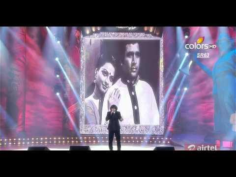 Mirchi Music Awards 2013- Rajesh Khanna Hit songs With Sonu Nigam