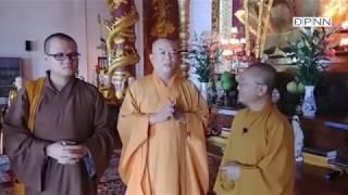 Thầy Nhật Từ viếng thăm chùa Bửu Thắng- Trụ sở GHPGVN tỉnh Gia Lai, ngày 06-06-2018