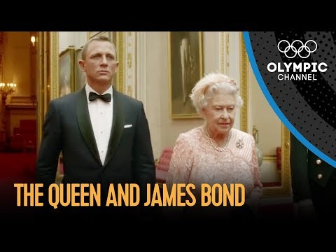 olympics - Daniel Craig reprises his role as British secret agent James Bond as he accompanies Her Majesty The Queen to the opening ceremony of the London 2012 Olympic ...