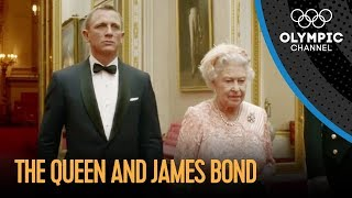 Video James Bond and The Queen London 2012 Performance MP3, 3GP, MP4, WEBM, AVI, FLV Agustus 2018