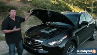 2013 Infiniti FX50 Test Drive&Luxury Crossover Video Review