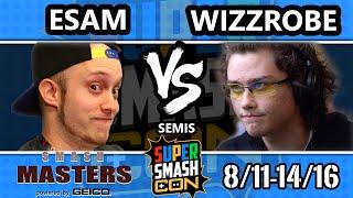 Smash Masters Semis – COG Wizzrobe Vs. PG | ESAM – Super Smash Con 2016