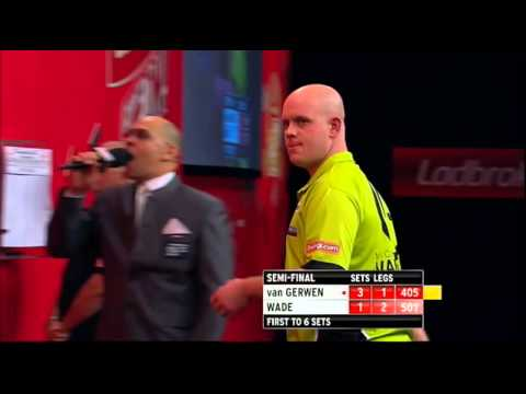 darter - 17 PERFECT DARTS! Michael van Gerwen almost makes a back to back 9 DARTER (17 PERFECT darts) v James Wade at World Darts Championship 2013 | INCREDIBLE! 180,...