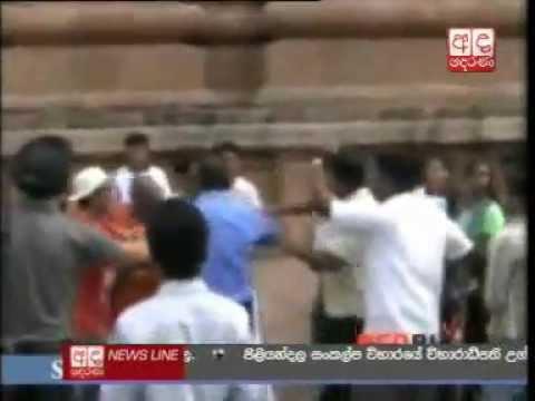 Sri Lankan Monk Assaulted In India
