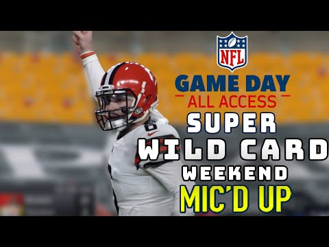 """Super Wild Card Weekend Mic'd Up! """"Do, or do not, there is no try"""" 