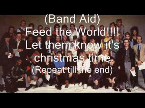 , title : 'Band Aid - Do they know it's christmas lyrics (DESCRIPTION UPDATE)'
