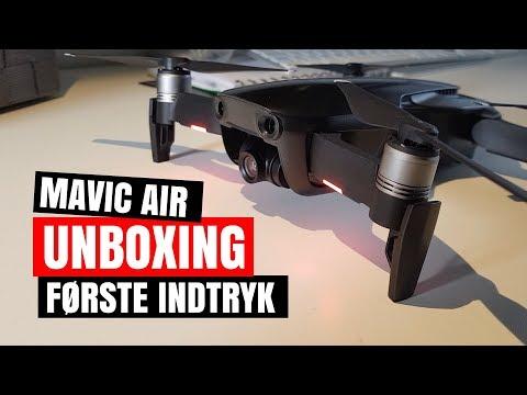 DJI Mavic Air DANSK Anmeldelse  🇩🇰