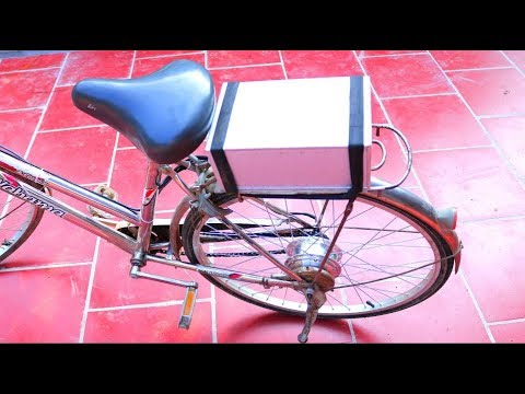 How to Make Electric Bike from Old Bike at Home