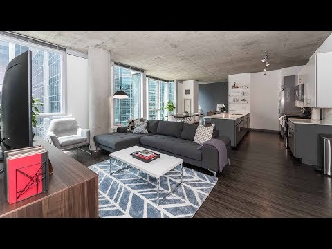 A very livable 3-bedroom, 2-bath at the Loop's bold new Linea apartments