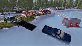 Nonton Farming Simulator 17  26 Frozen Lake Ice Rescue   Fire Department Rescues Trapped Victim Film Subtitle Indonesia Streaming Movie Download
