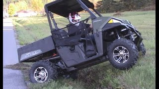 10. 2015 Polaris Ranger 570 - Essai et test / Review / Introduction