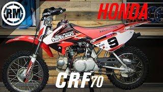 5. Kids Dirt Bike Guide Series | Honda CRF70F