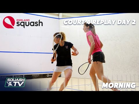 AJ Bell England Squash Super 8 - Court 4 - Day 2 Morning