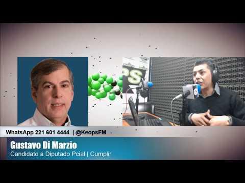"""Diputado Di Marzio: """"En Cumplir queremos ser parte de un debate con miras al 2019"""""""