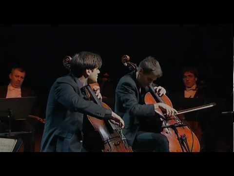 Quin dice que la msica de orquesta es aburrida? Dos violonchelos tocando We found love de Rihanna