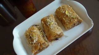 Baklava Rolls Recipe Video - Ramadan Recipes