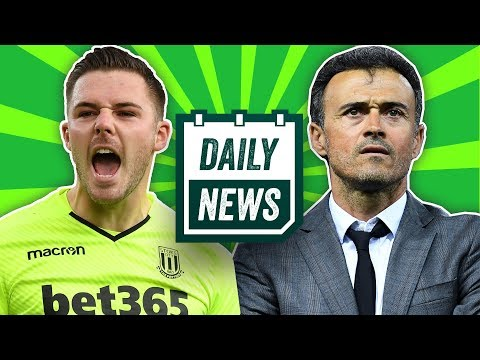 Luis Enrique Wants To Manage In The Premier League + Jack Butland Transfer To Liverpool ► Daily News