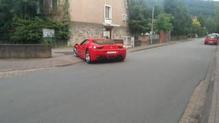 Hameln Germany  City pictures : Ferrari 458 Italia in Hameln (Germany)