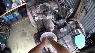 7. Grizzly 700 AIR FILTER CLEANING