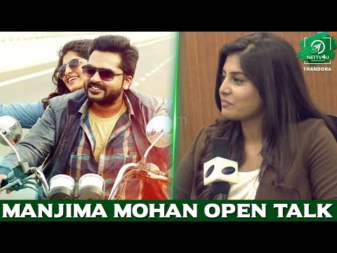 Manjima Mohan Open Talk - Simbu Use ..