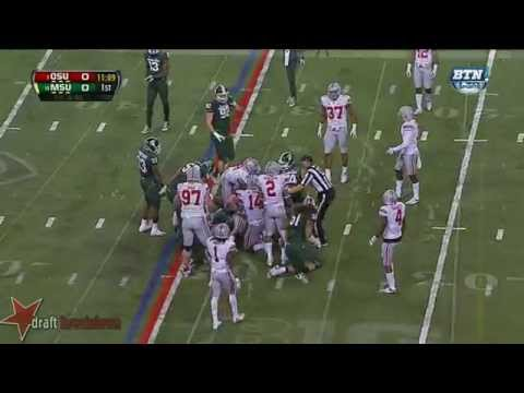 Connor Cook vs Ohio St. 2013 video.