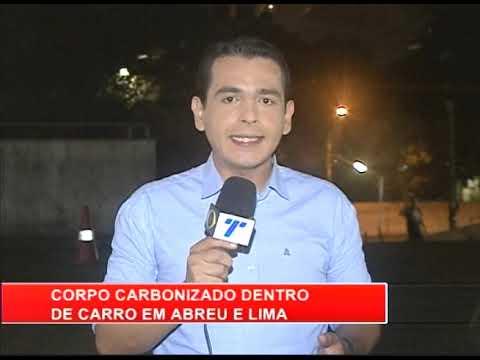[RONDA GERAL] Corpo carbonizado dentro de carro em Abreu e Lima