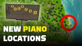 Fortnite: Play Sheet Music on Pianos near Pleasant Park and Lonely Lodge by IGN