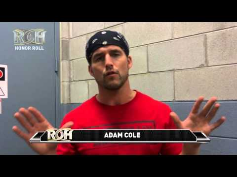 roh - MAY 30TH ROH HONOR ROLL Visit here to find out when ROH airs in your area http://www.rohwrestling.com/content/ROHTVListings.