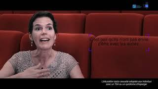 Vidéo. L'éducation socio-sexuelle adaptée aux individus avec TSA ou un syndrome d''AspergerAutisme. Isabelle Hénault