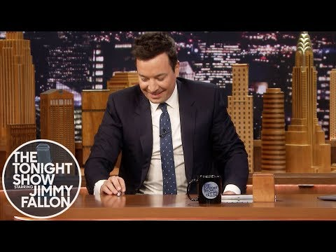 Jimmy Attempts to Flip a Pen and Catch it with the Same Hand
