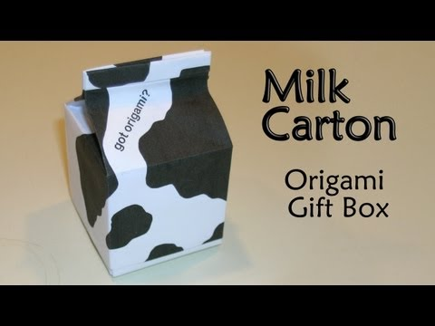 Kitchen Tutorial - 019 -- Milk Carton
