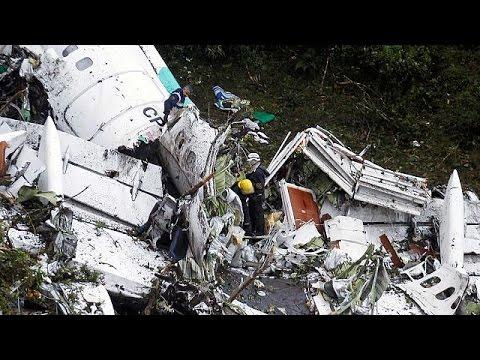 Αεροπορική τραγωδία στο Μεντεγίν – Ξεκληρίστηκε βραζιλιάνικη ποδοσφαιρική ομάδα