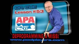 APA Dr Cue Lesson #53: Deprogramming A Miss
