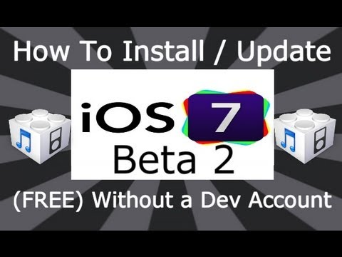DinoZambas2 - Please Read NEW How To Install NEW iOS 7.1 Beta FREE Without A UDID Or Dev Account: http://youtu.be/pszvhew_fhk Download Link iOS 7.1 Beta has been released ...