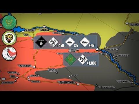 13 сентября 2017. Военная обстановка в Сирии. 85 территории Сирии освобождено от террористов.