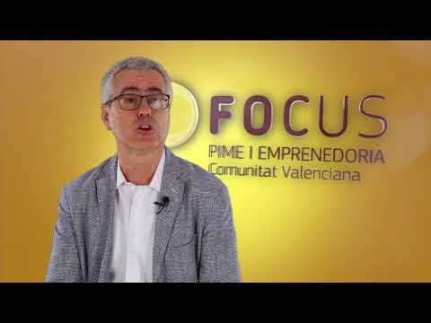 Vicent Gasent, técnico de innovación del IVACE, en #FocusPyme L'Alacantí[;;;][;;;]