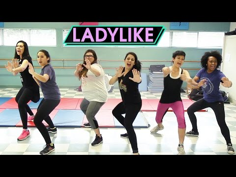 Women Take A Self-Defense Class • Ladylike (видео)