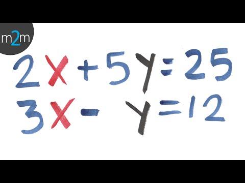 Verfahren zur Addition und Subtraktion (3x3 lineare Systeme) - HD