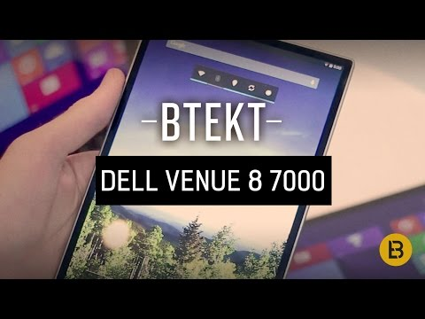 World's thinnest tablet - Dell Venue 8 7000 hands-on!