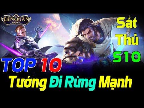 Liên Quân Top 10 Tướng Đi Rừng Mạnh mùa 10 Phiên Bản Trang Phục 4.0 Meta Thắng bại Tại Mục Tiêu TNG - Thời lượng: 12:51.