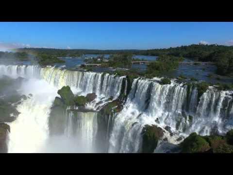 Phantom 4,Filmagem das Cataratas do Iguaçu Brasil Filmagens com Drone
