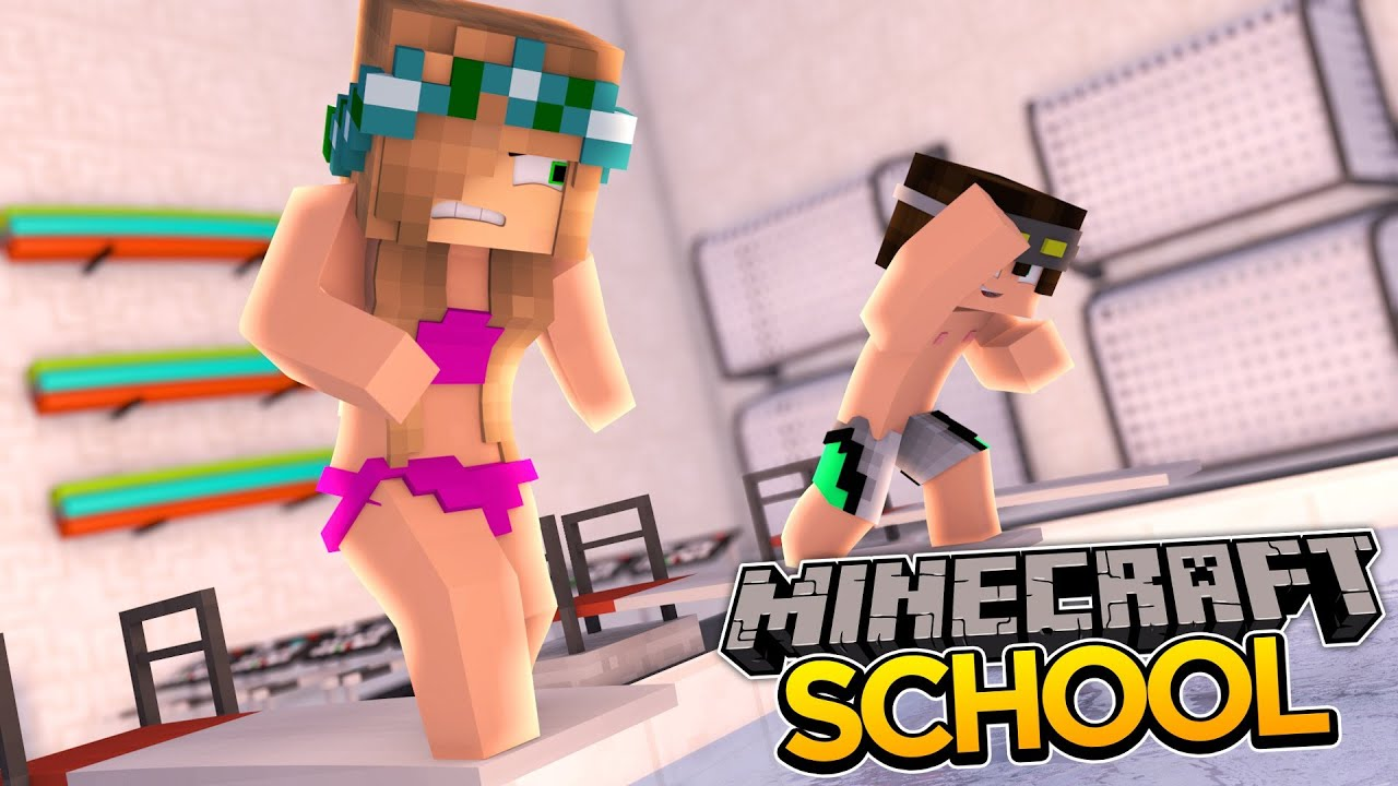 Minecraft School S2 – OLYMPIC SWIMMING SPORTS DAY!