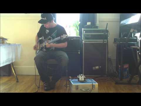 Rene Del Fierro - Freekish Blues Alpha Drive II Red Dot - Dumble Tones Video 3
