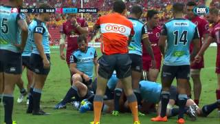 Reds vs Waratahs Rd.5. 2016 | Super Rugby Video Highlights